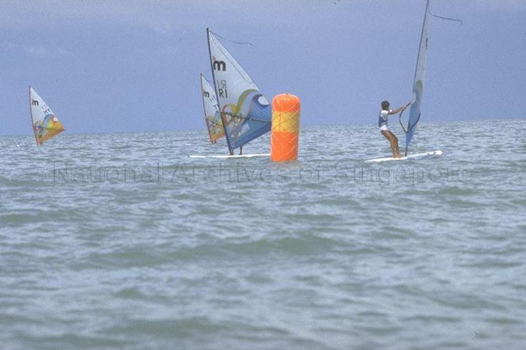 1983- Southeast Asian Games (SEA Games) - Windsurfing at Changi