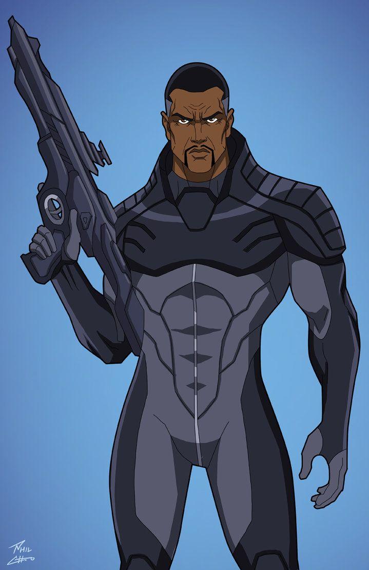 Black Manta (Earth-27) unmasked commission by phil-cho.deviantart.com on @DeviantArt