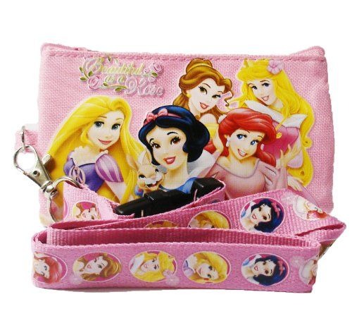 Dress-Up Toy Purses - Disney Princess and Tangle Lanyard with Coin Purse Beautiful as a Rose -- More info could be found at the image url.