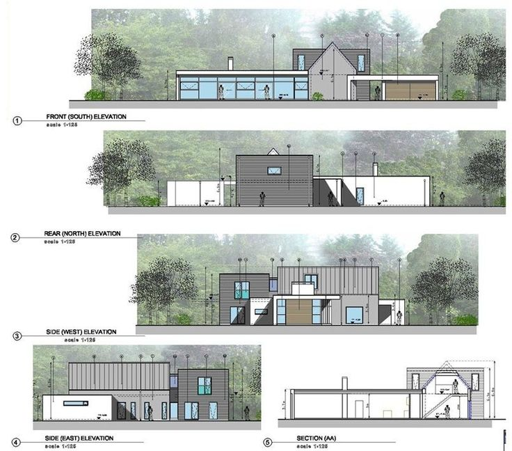 <p>This project involved the extension of an existing house.<br /> The existing house was a 1960s dormer style cottage, located within a woodland context and bounding the shores of Lough Derg.</p>  <p>The design concept was to transform the existing cottage while retaining its form, and integrate it with the design of a new contemporary extension.<br /> The result is a collective of forms which help integrate the dwelling within its context, by bre...