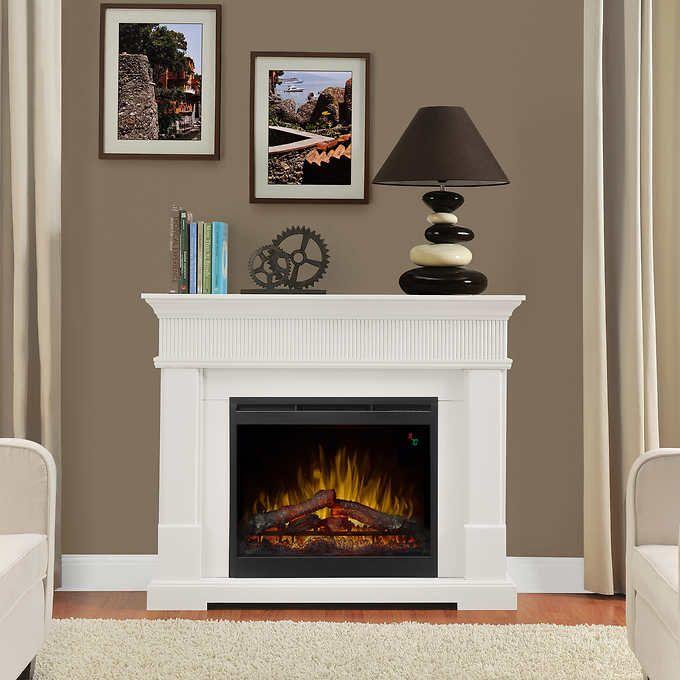 Woodridge 49 5 Mantel Electric Fireplace White Electric Fireplace Fireplace Best Electric Fireplace