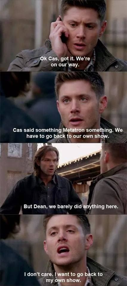 What really happened.    Supernatural 9.20 Bloodlines