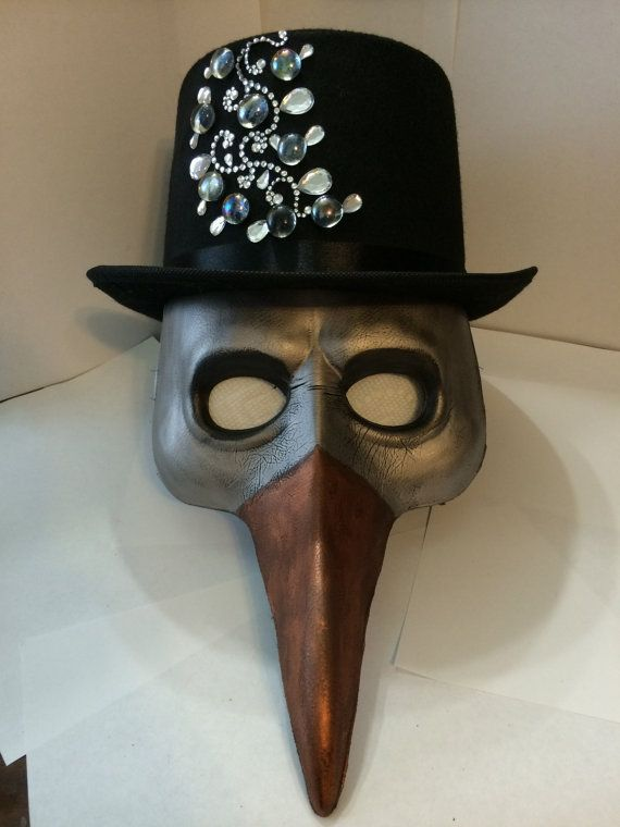 how to build a plague mask