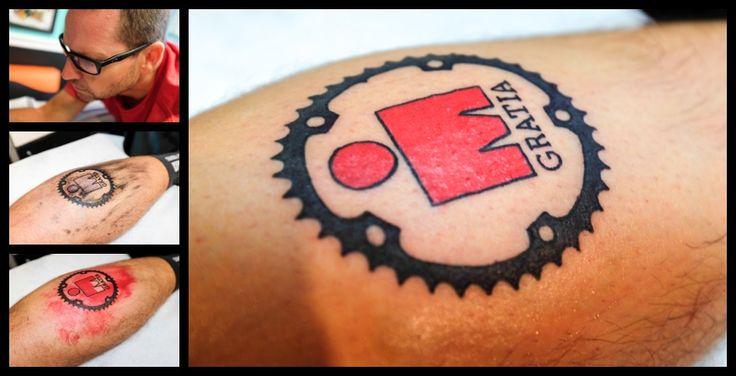 Ironman Tattoo Process