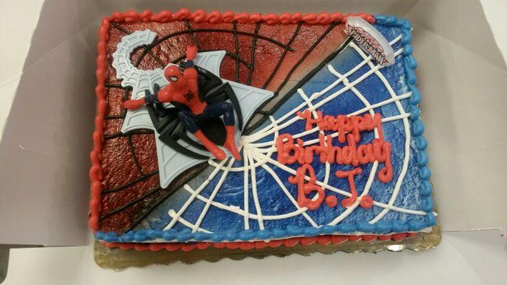 Spiderman Publix Cakes Pinterest Spiderman