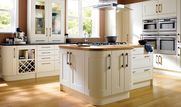 Wickes Tiverton Bone is a truly timeless classic kitchen that will never date.