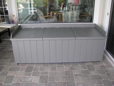 how to build a deck storage box loweu0027s creative ideas could keep dog food
