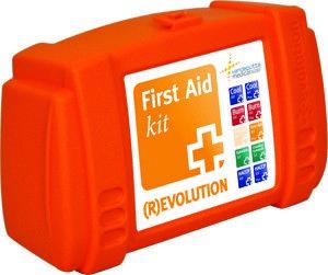 Basic First Aid trommel, omdat minder soms ook voldoende is.
