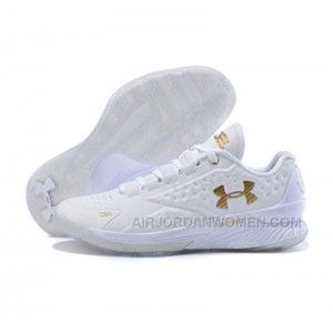 High Quality Free Shipping Under Armour ClutchFit Drive Low Stephen Curry  Shoes Gold White 8bc417056