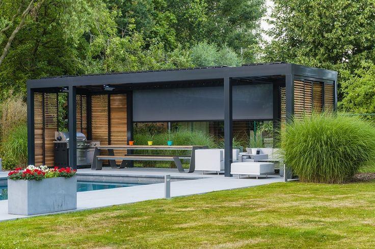 11 best pergola images on Pinterest Camargue, Landscaping and - store exterieur veranda prix