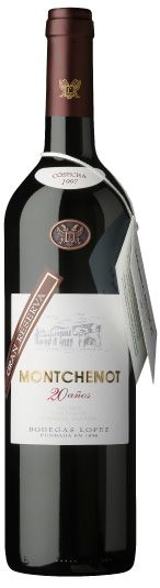 Montchenot Red Wine Gran Reserva 20 años