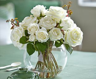 Image for White Rose Arrangement from Bloom