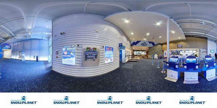 Besides skiing and snowboarding Snowplanet offers an alpine themed restaurant and a conference centre.