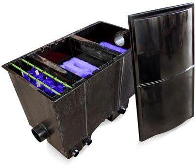 Vijver-shop 15000 vijverfilter compleet  Biologisch filter 15000, compleet - 102 x 61 x 78 cm - Voor een vijver tot 15000 liter #vijvershop  #vijverfilters