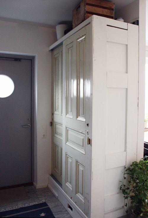 Skyv døra – diy » norske interiørblogger lage forvaring i stua med ...