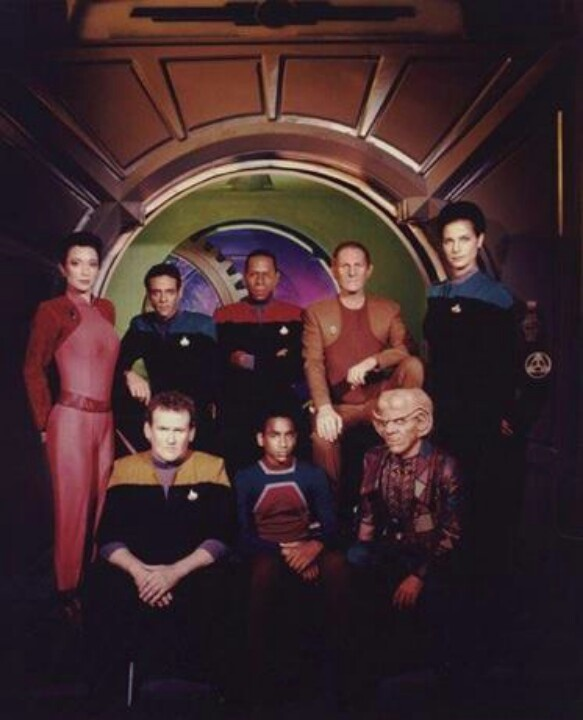 DS9, okay, not my fave Star Trek, but entertaining none-the-less.
