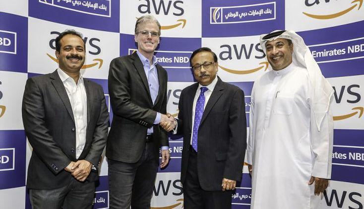 بنك الإمارات دبي الوطني يعزز الذكاء الاصطناعي في الخدمات المصرفية مع أمازون جريدة حابي Lab Coat Jackets Fashion