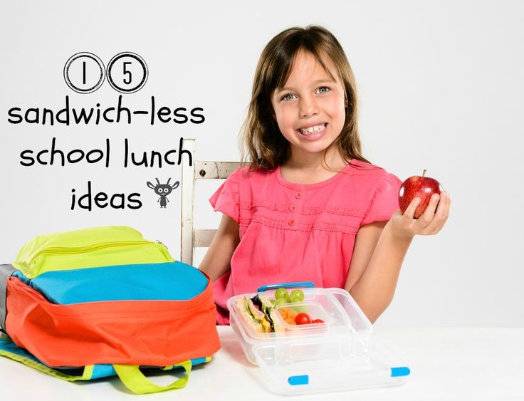 sandwichless lunch box ideas