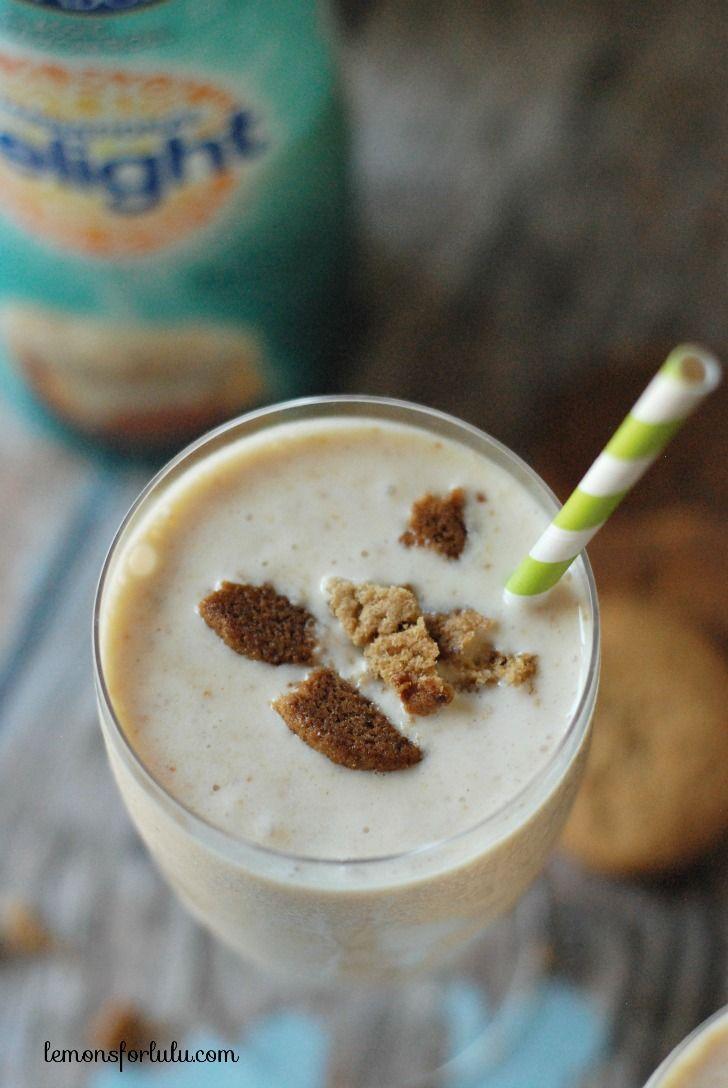 Peach Cobbler Milkshake #IDelight - Lemons for Lulu