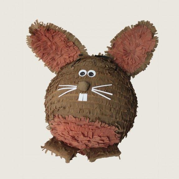 Piniata, pinata, Królik Piniata, rabbit, easter,  urodziny, party, garden party, przyjęcie, niespodzianka z cukierkami, prezent, gift, dzieci, dziecko fun