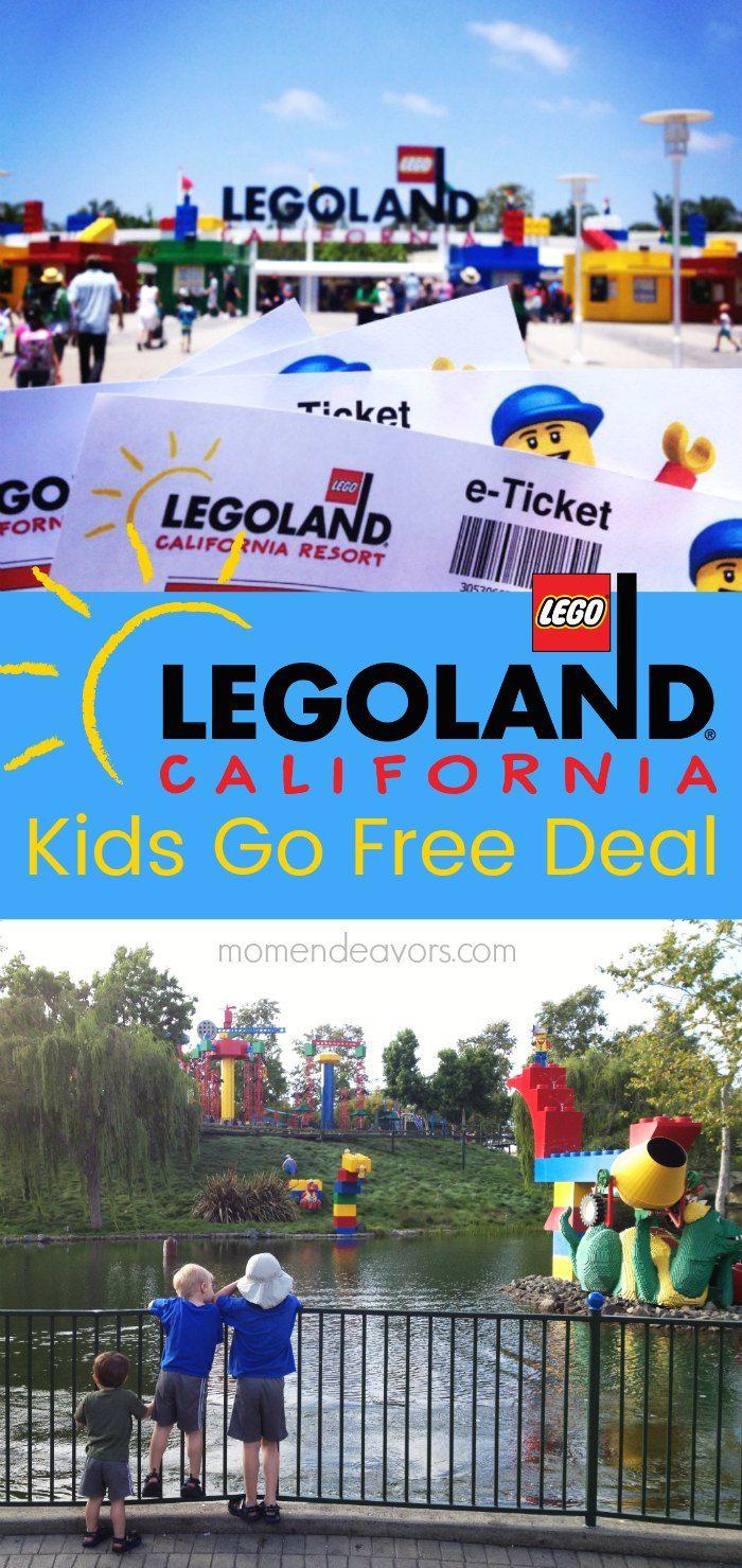 Save Money At Legoland California Resort With The Kids Go Free Deal Plus New Legoland Attractions Legolandkidsgofr Legoland California Kids Go Free Legoland
