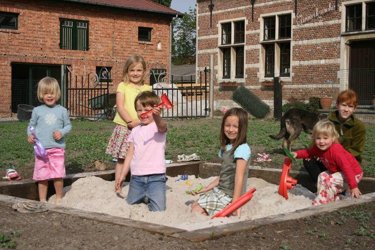 Kindvriendelijke boerderij - Familievriendelijke boerderij Vakantie op de boerderijMelsele B&B-formule