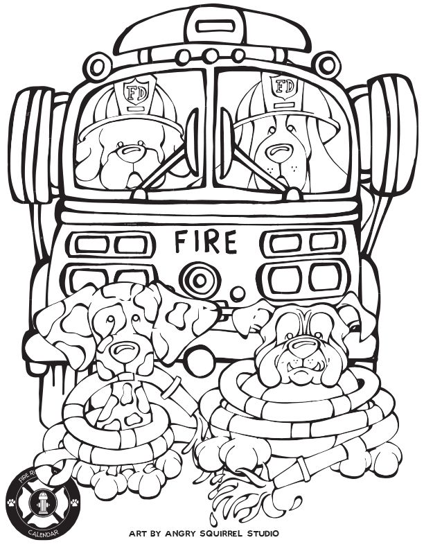coloring pages animal rescue - photo#33