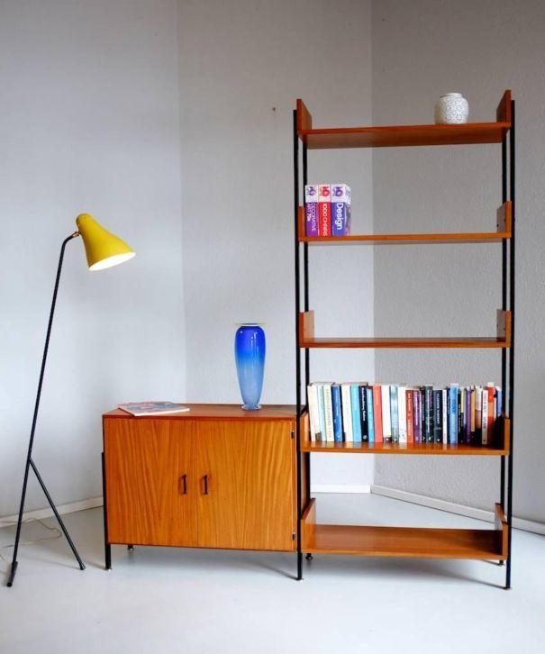 Meer dan 1000 idee n over vintage boekenkast op pinterest oude boeken opnieuw inrichten en - Eigentijdse boekenkast ...