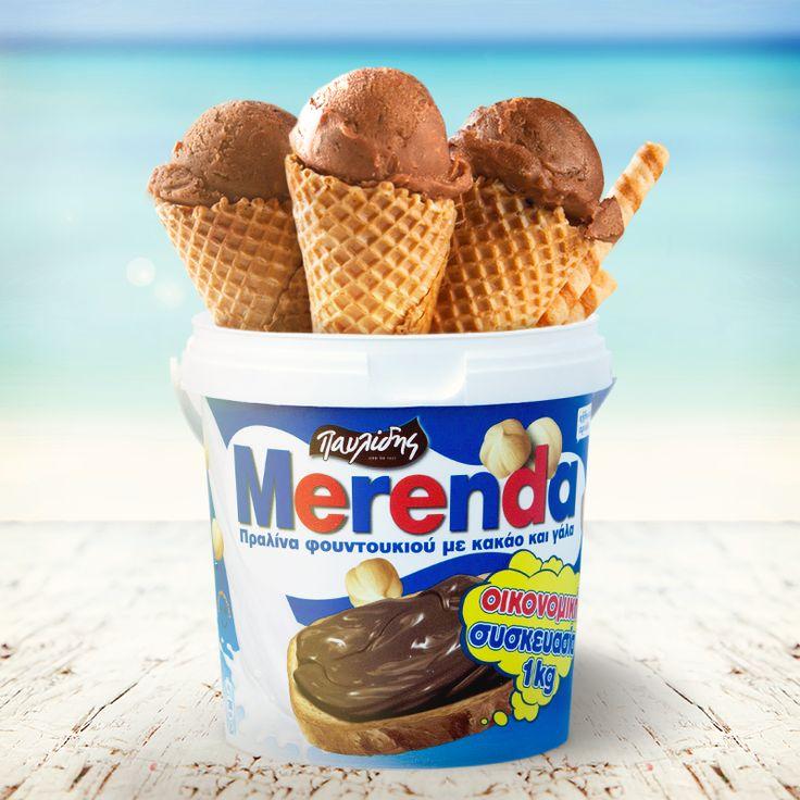 The Merenda ice cream! See the recipe http://agoragreekdelicacies.co.uk/greek-recipes/4590645102