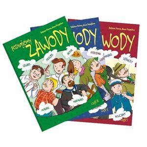 Poznajemy zawody - komplet 3 książek z pomocami dydaktycznymi - Wydawnictwo BLIŻEJ PRZEDSZKOLA