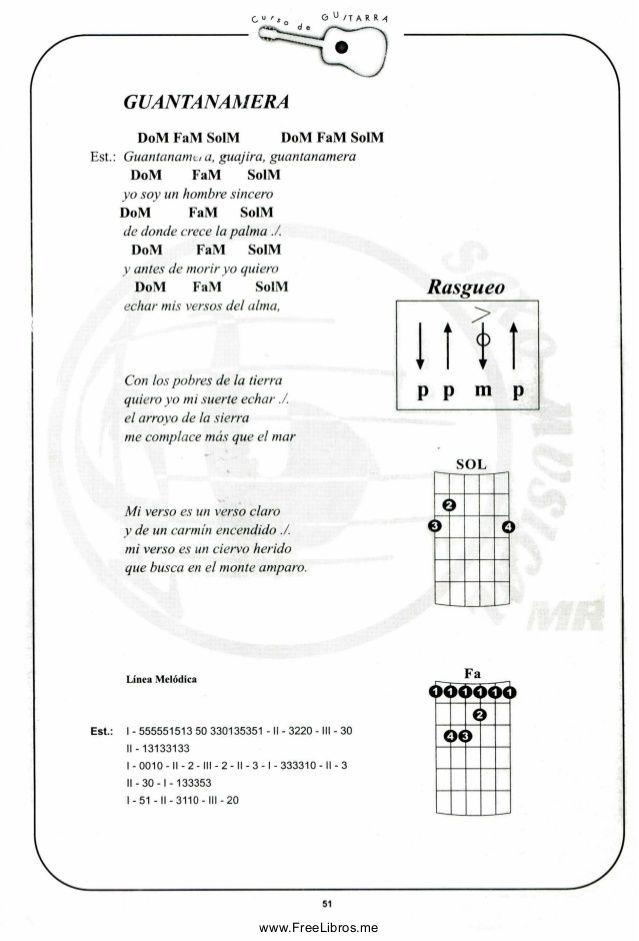Curso De Guitarra Canciones De Guitarra Acordes Guitarra Canciones Acordes De Guitarra