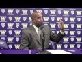 Video: Washington head coach Lorenzo Romar