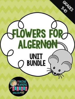 8 best flowers for algernon images on pinterest flowers for this bundle includes my highly rated flowers for algernon pre reading guide fandeluxe Choice Image