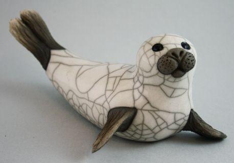 Ceramic Seal - handmade british artists