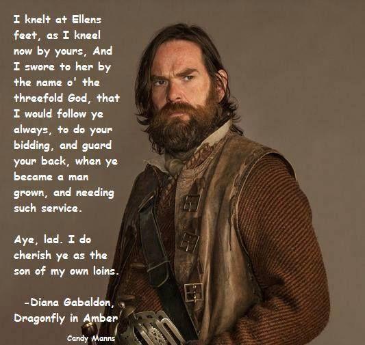 Murtagh's oath to Jamie