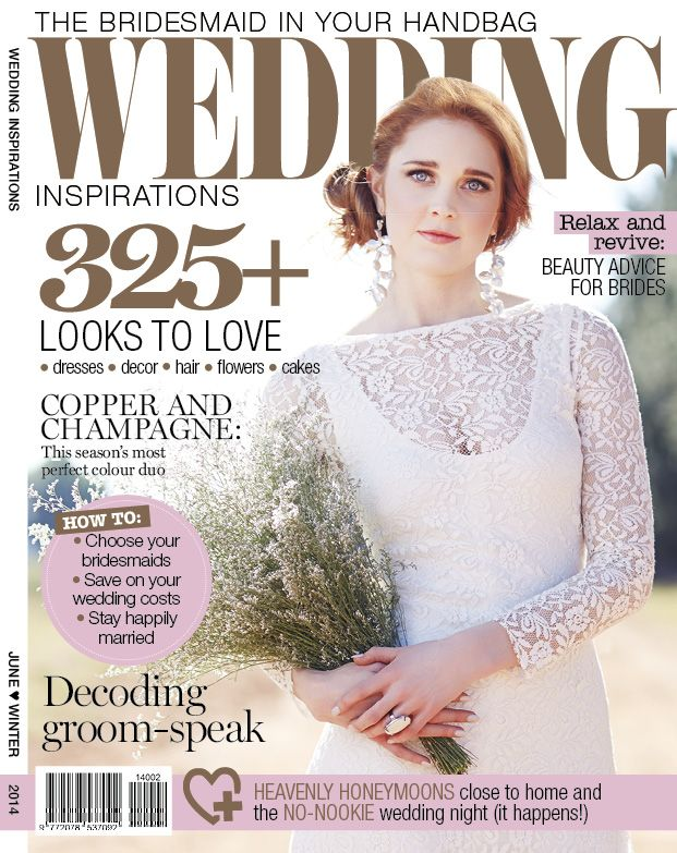 Winter 2014 (June) cover of Wedding Inspirations www.weddinginspirations.co.za