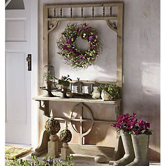 Screen Door Plant Shelf from Through the Country Door® want this for my new screened in porch.Love through the Country Door. & 49 best Outdoor Oasis by Country Door images on Pinterest | Oasis ... Pezcame.Com