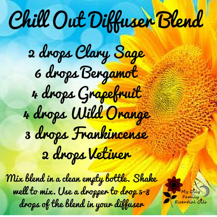 chill out diffuser blend