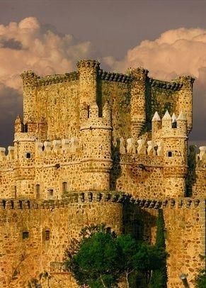 Guadamur Castle in Toledo ~ Castilla-La Mancha, Spain