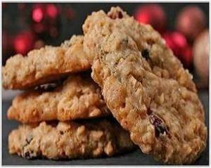 Хрустящее вкусное овсяное печенье