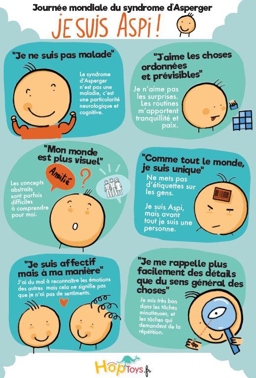 C'était samedi dernier ! Nous étions le 18 février & en France, c'est la journée nationale du #SyndromeDAsperger… Je n'ai pas partagé le jour J, car très honnêtement, je ne vois pas véritablement l'intérêt d'une telle journée franco-française, quand il existe au plan mondial le 02 avril : journée mondiale de sensibilisation à l'#autisme, sous toutes ses formes  :( Je préfère pour ma part m'inscrire dans un mouvementé global de #neurodiversité & trouve la journée mondiale du 02 avril bien…