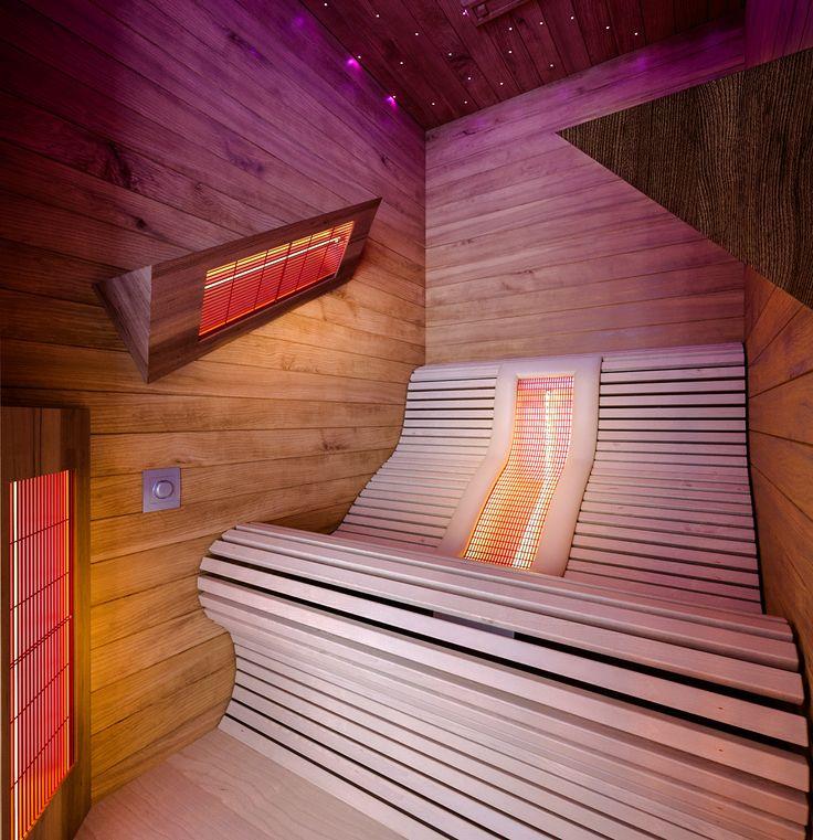 IR Sauna with sky dome