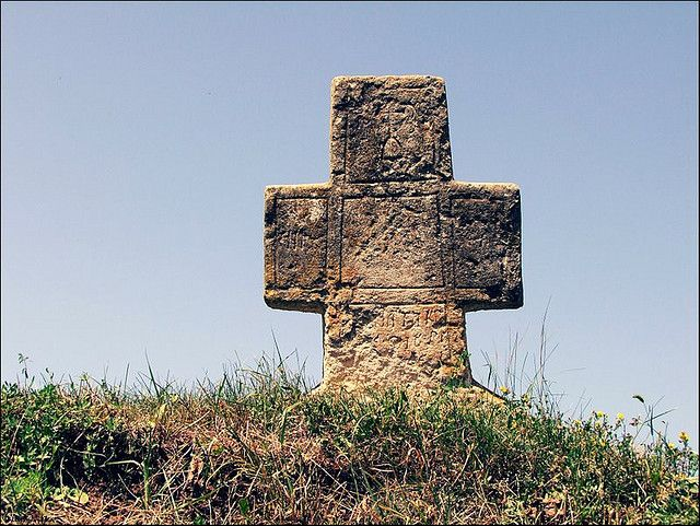 Cruce de hotar pe culmea de la Benic (Alba) :: Cross boundary edge to Benic village (Alba - RO) -- DSCF8688-gimp | by iulian nistea