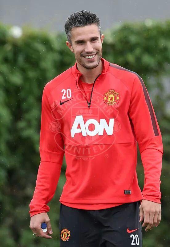 Robin van persie- Manchester United