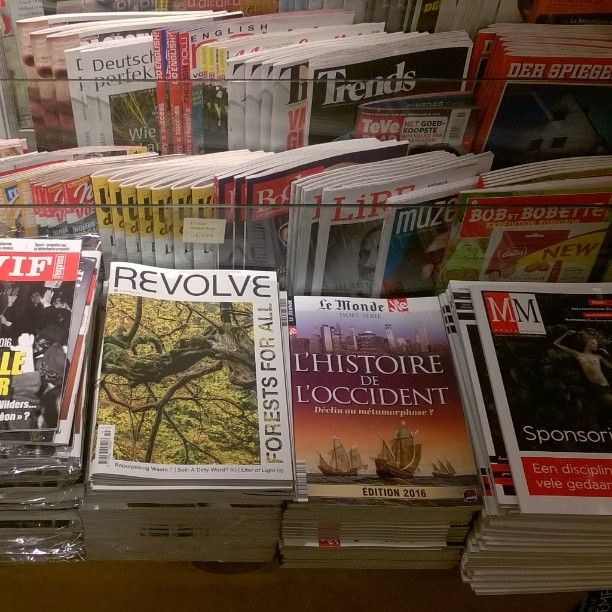 #Revolve #magazine on sale in #Filigranes in #Brussels all about #sustainability #forests #nature #development #water and more! Visit: revolve.media Re-post by Hold With Hope