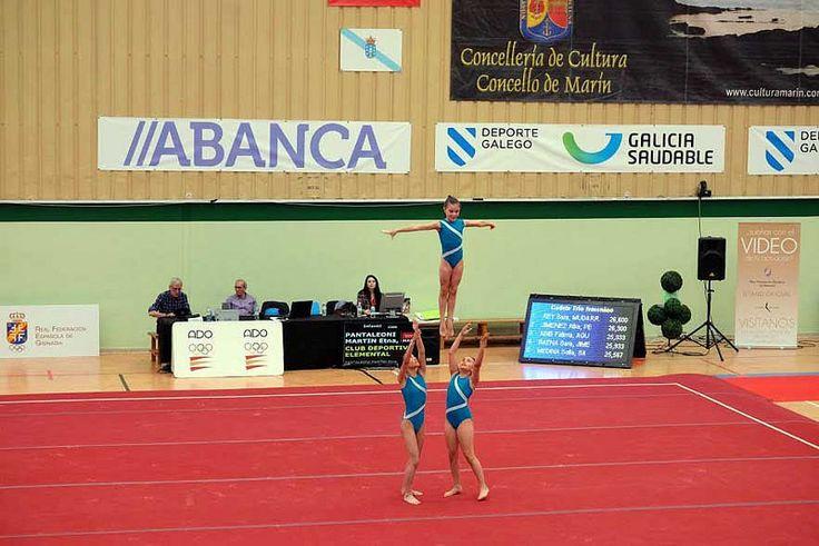 El club Andraga de Collado Villalba participó en el Campeonato de España de Gimnasia Acrobática - villalbainformacion.com