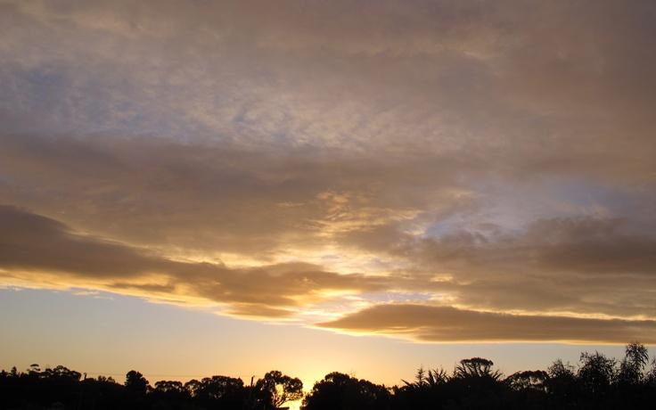 Sunset, August 2012, Freycinet Peninsula, Tasmania.