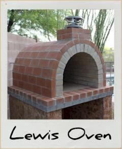 Who has always wanted a real wood fired brick pizza/bbq oven in the backyard.  This is the coolest idea ever.