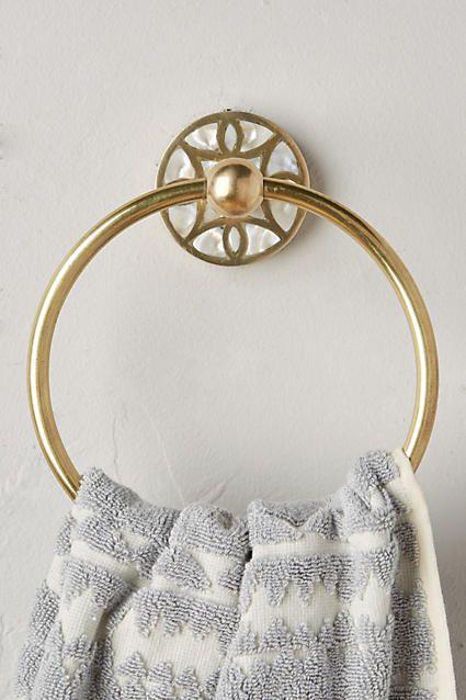 Launis Towel Ring - anthropologie.com