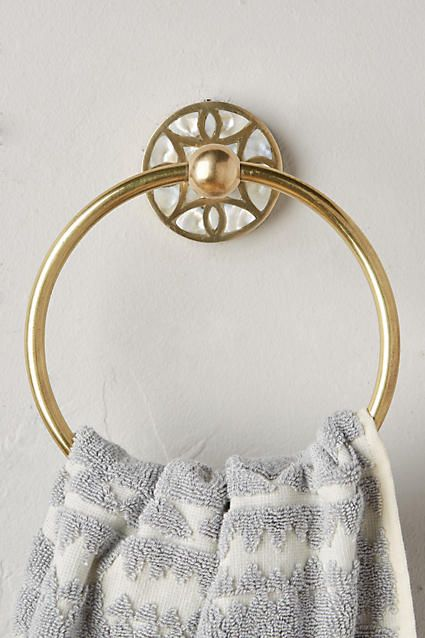 Launis Towel Ring - anthropologie.com $42